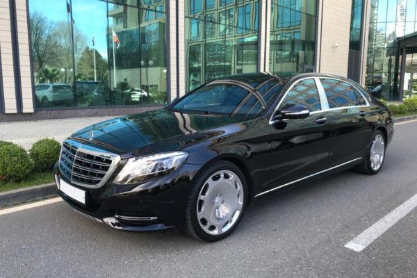 Mercedes s class трансферная служба Сочи